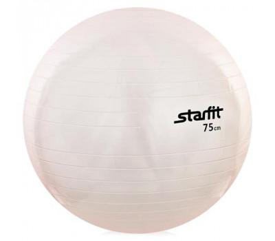 Мяч гимнастический 75 см, прозрачный
