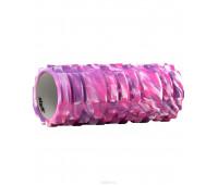 Ролик массажный, 140х330 мм, фиолетовый
